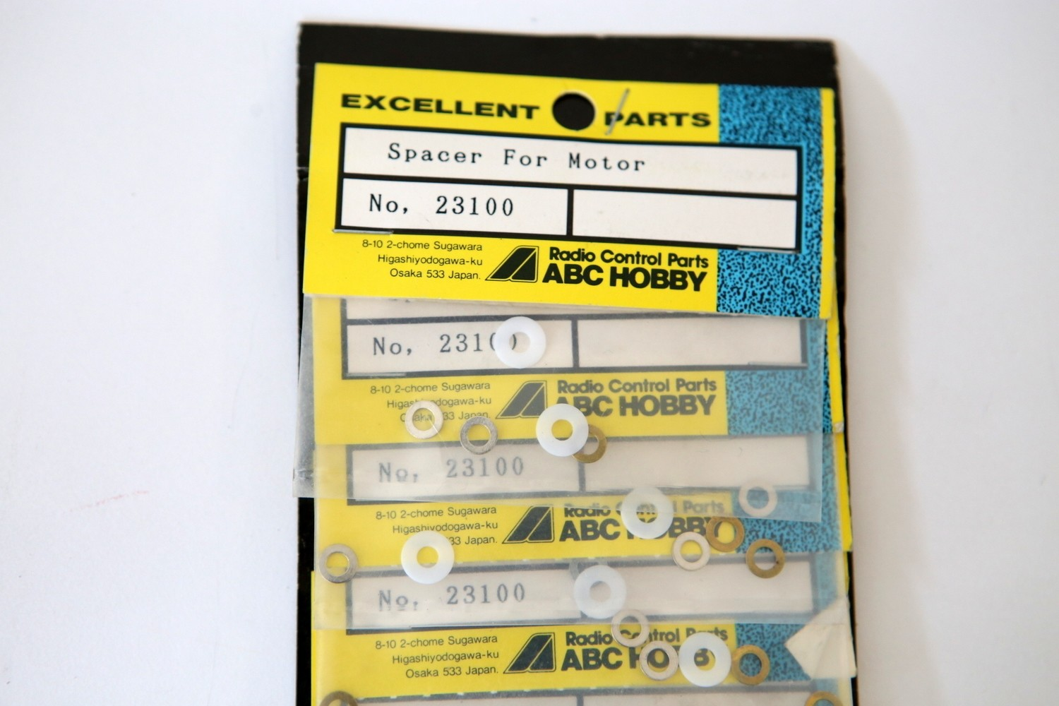 ABC HOBBY MOTOR SPACERS