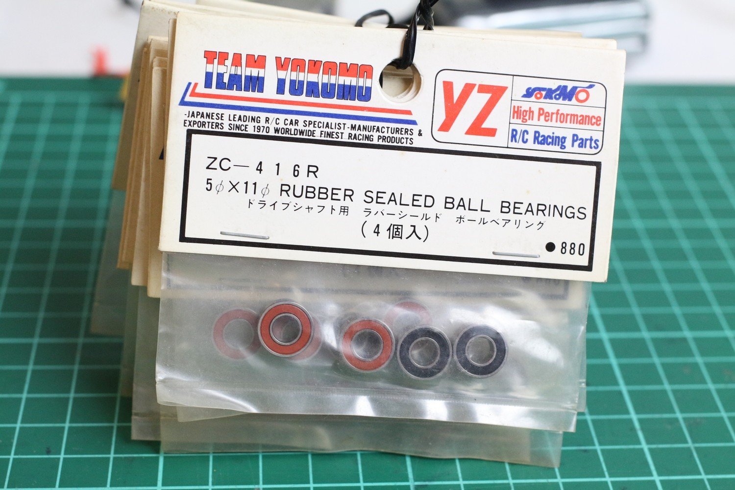 ZC416R YOKOMO 5*11 RUBBER SEALED BALL BEARING(4)