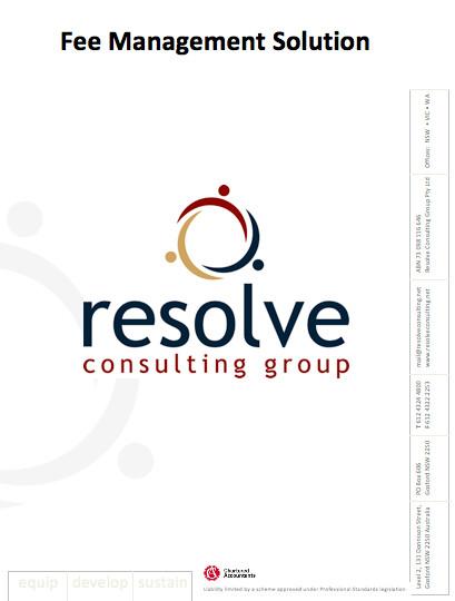 Resolve Fee Management Solution