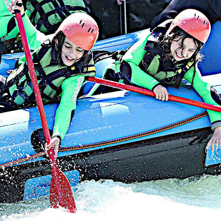 Voucher for the family rafting
