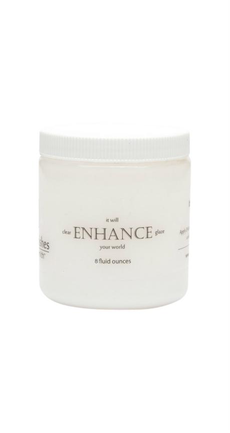 enhance clear glaze