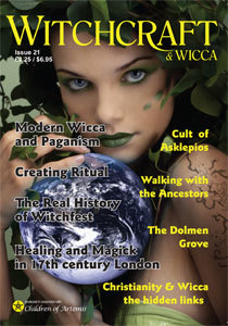 Witchcraft & Wicca Magazine Issue 21