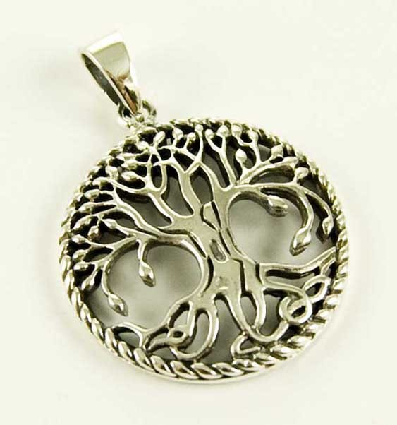Silver Pendant Tree Of Life