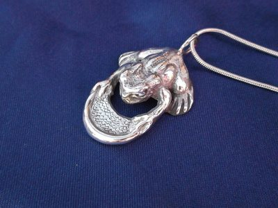 Waters of the Moon Toad - Sterling Silver Pendant