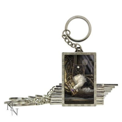 Times Up 3D Keyring