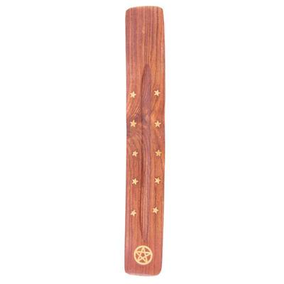 Wooden Ash Catcher Pentagram Design