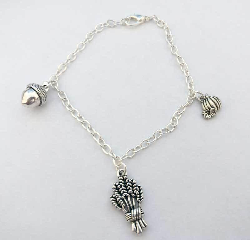 Harvest Chain Charm Bracelet