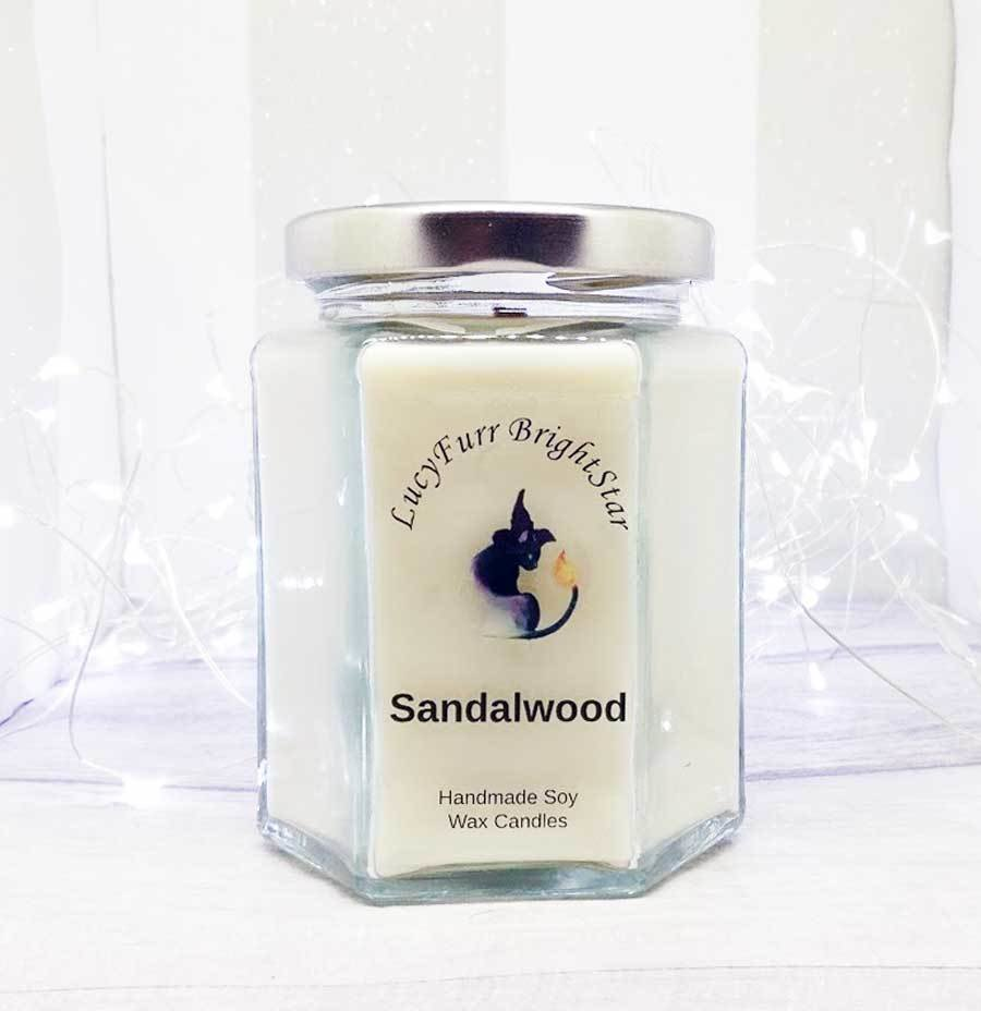 Sandalwood Jar Candle