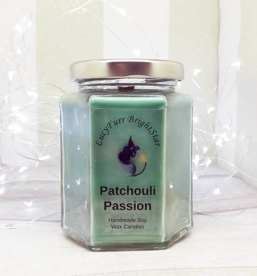 Patchouli Passion Jar Candle