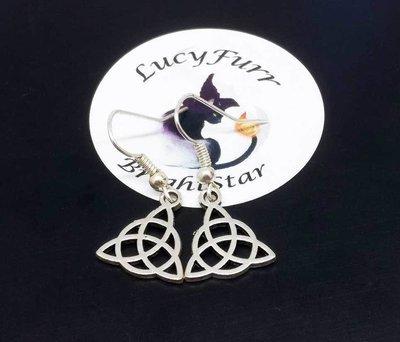 Triquetra Dangle Earrings