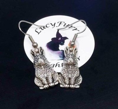 Hare Dangle Earrings