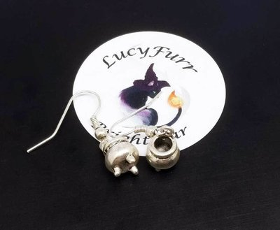 Witches Cauldron Dangle Earrings