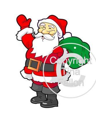 Santa's Grotto Printable 17 - for Studio PNC or PDF Handcut