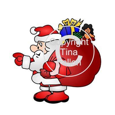 Santa's Grotto Printable 15 - for Studio PNC or PDF Handcut