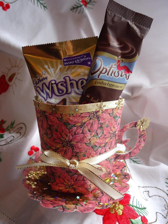 Christmas poinsettia Design Mug and Saucer Set  Print n Cut