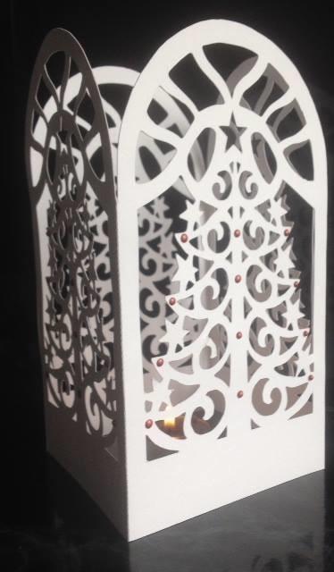 Christmas Tree  Luminaire or gift box  FCM Scan n Cut