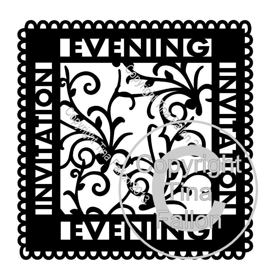 Evening invitation Occasion Topper