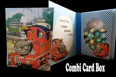Tobias The Tank Engine Combi Card Box  PNC
