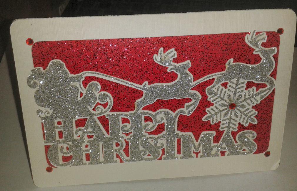 Happy Christmas Santa Card