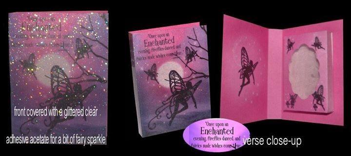 Fairy Combi Card-Box No2 Print n Cut