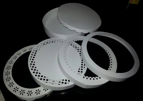 Round box choice of 5 lids (large)