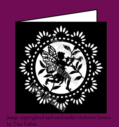 Fairy Card No 2  SVG FORMAT
