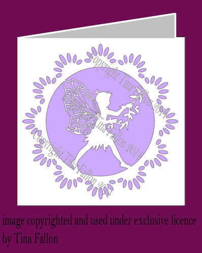 Fairy Card No 3 SVG FORMAT