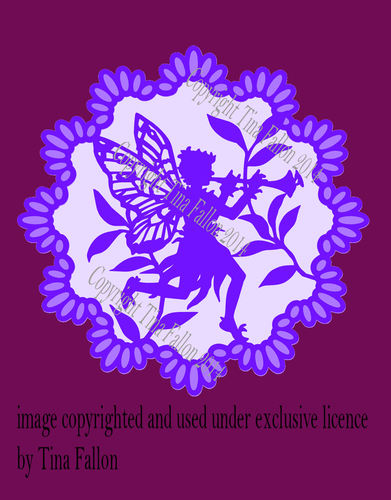 Fairy Doiley 2  SVG FORMAT