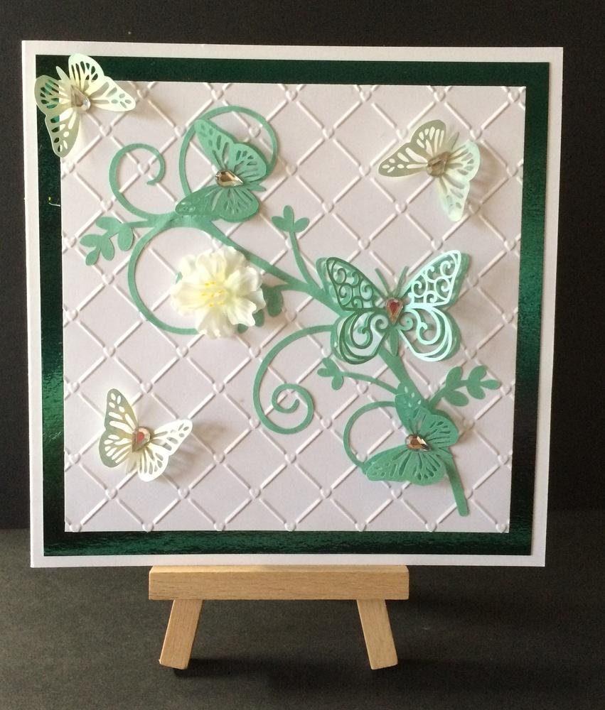 Butterfly topper embellishment - studio.