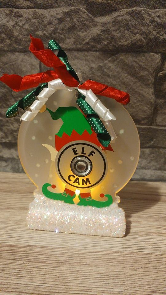 Elf Cam - Santa Father Christmas is watching 3 multi choice files see gallery