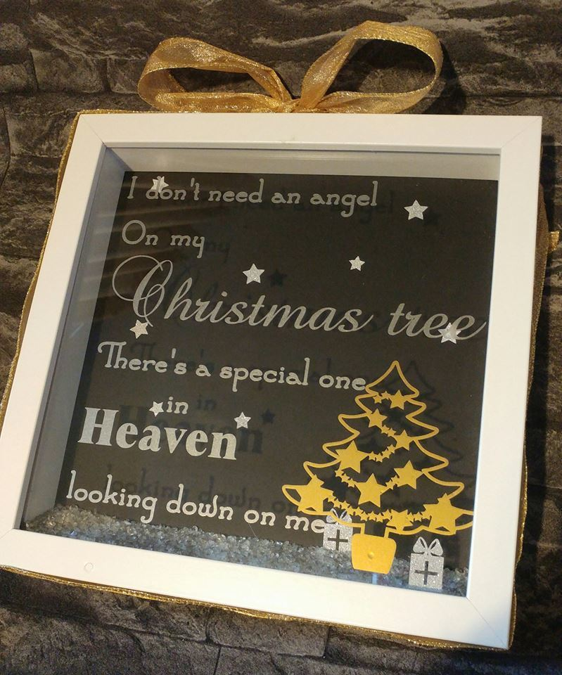 I / We don't need an Angel on our Christmas Tree - Rememberance quote fcm scan n cut