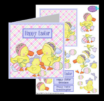 Easter Card 2   studio print n cut.