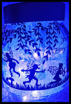 Fairy Wishes decor for large jars, bowls, globes, terraniums etc