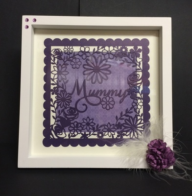 Mummy -  decorative frame ideal for Mother's Day.