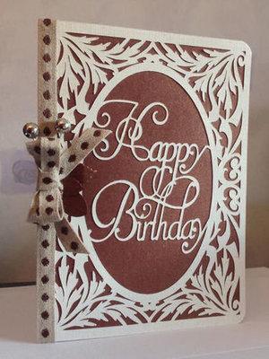 Happy Birthday 2  Card Template  FCM