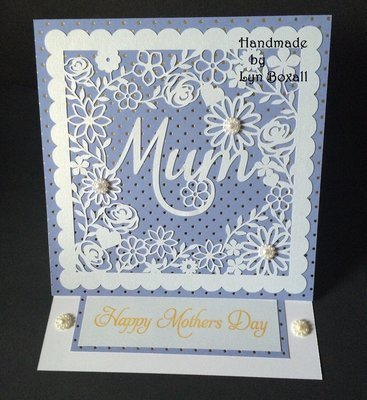 Mum decorative frame ideal for Mother's Day.