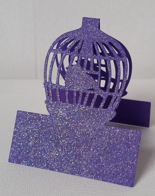 Wedding Set Heart and Bird Cage- PLACE NAME  / TABLE NUMBER   studio file