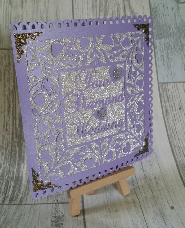 Diamond Wedding CARD