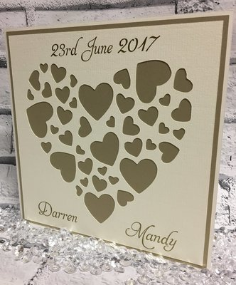 Heart Topper  ready for you to personalise