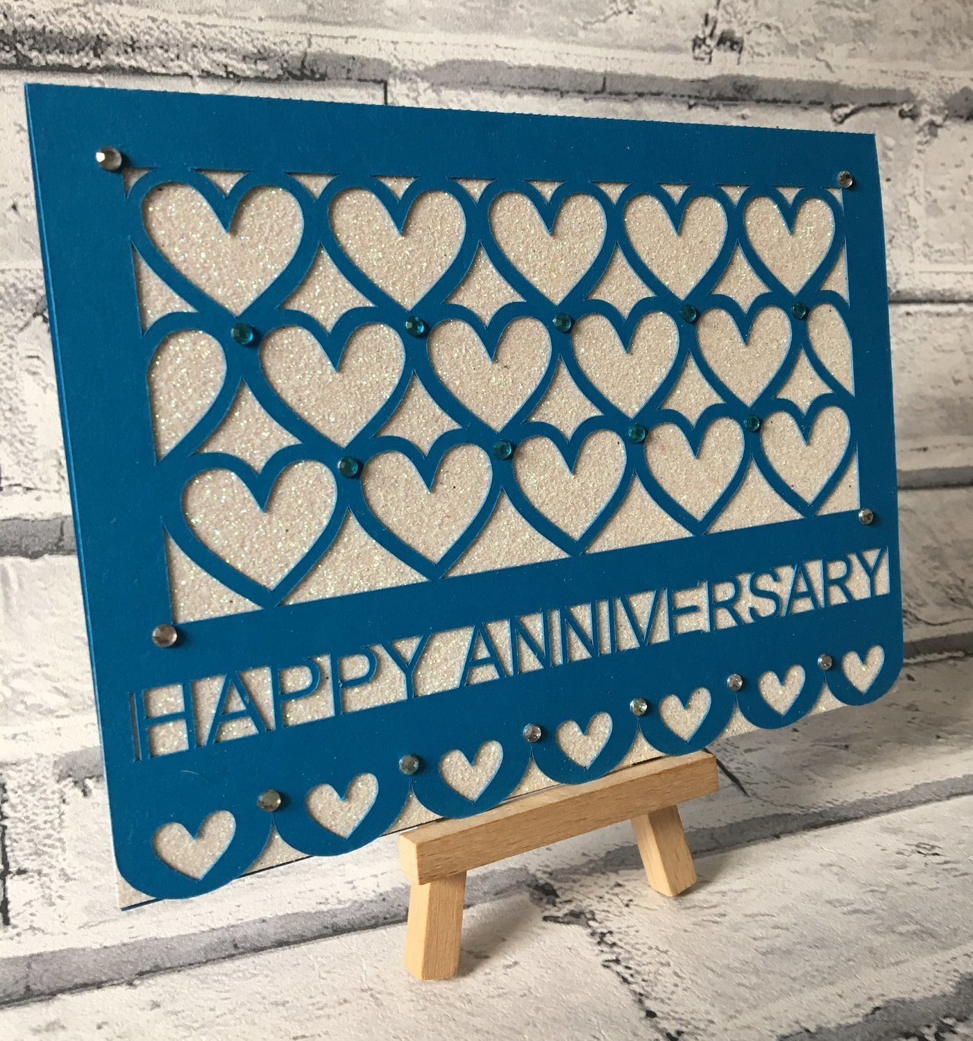 Happy Anniversary Heart Together No 2