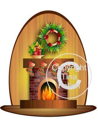 Santa's Grotto Printable 13  - for Studio PNC or PDF Handcut