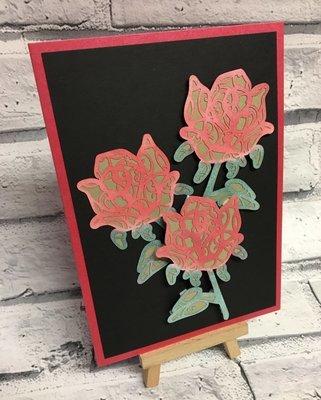 Filigree Topper  - Rose