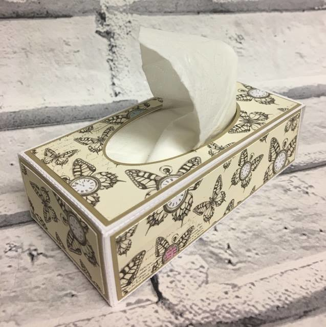 Tissue Packet Box great for wedding favours favors-  FCM