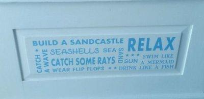 Build A Sandcastle ,  Beach, marine, nautical word art - studio