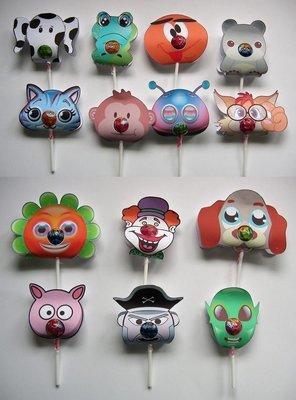 Chupa Chups Animal and Character lolly holders  set of 14 Print n Cut studio