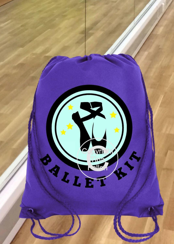 Ballet Dance Kit Bag Design 1 - studio format