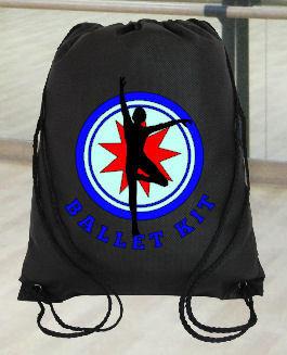 Ballet Dance Kit Bag Design 5 - studio format for HTV vinyl