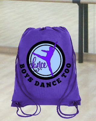 Ballet Dance Kit Bag Design 8 - studio format for HTV vinyl