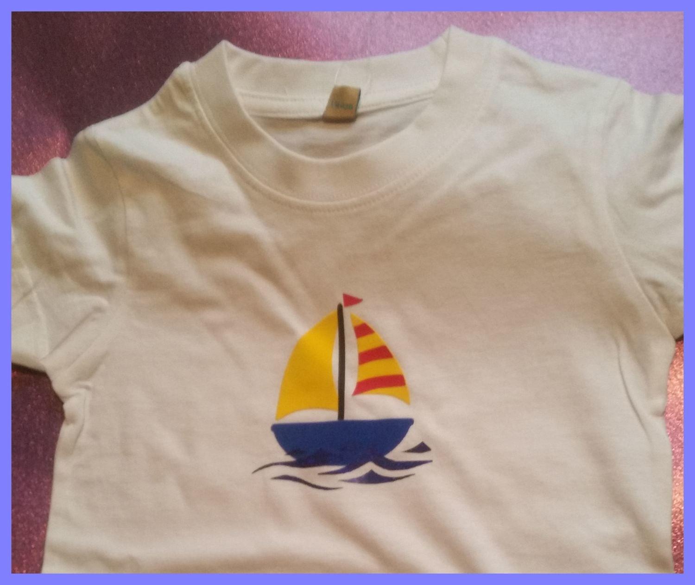 Kids Sailing Boat / Yacht for HTV Vinyl - studio format