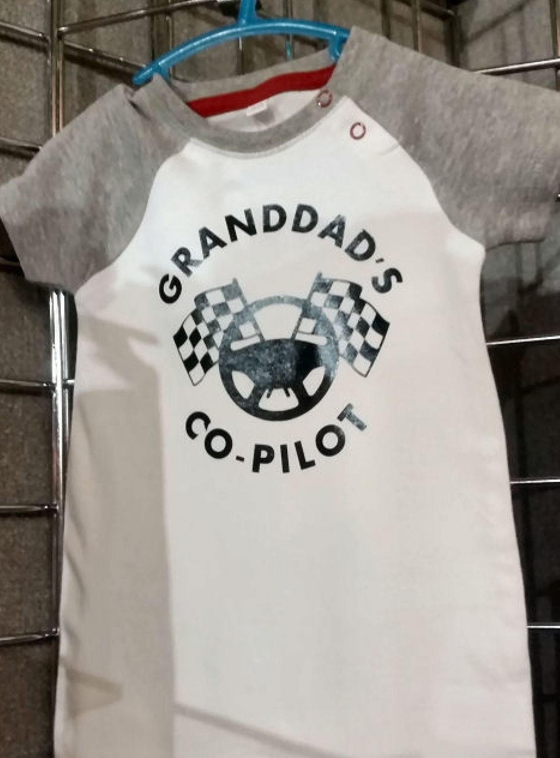 Baby quote Granddads Co-Pilot for HTV vinyl